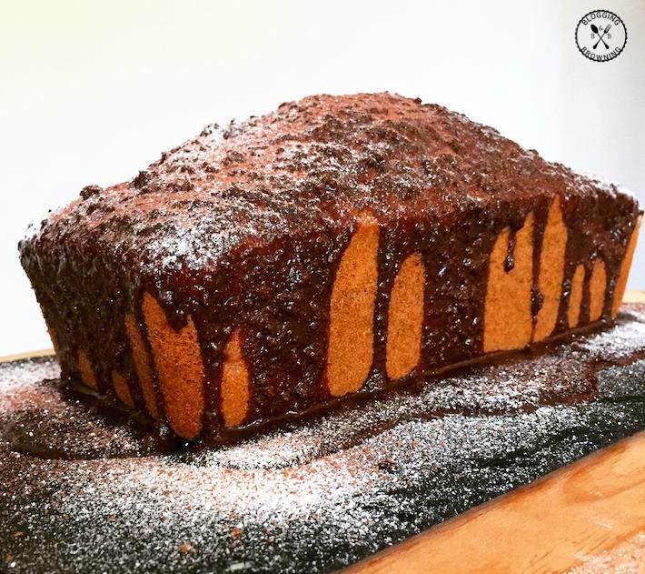 Mocha loaf cake
