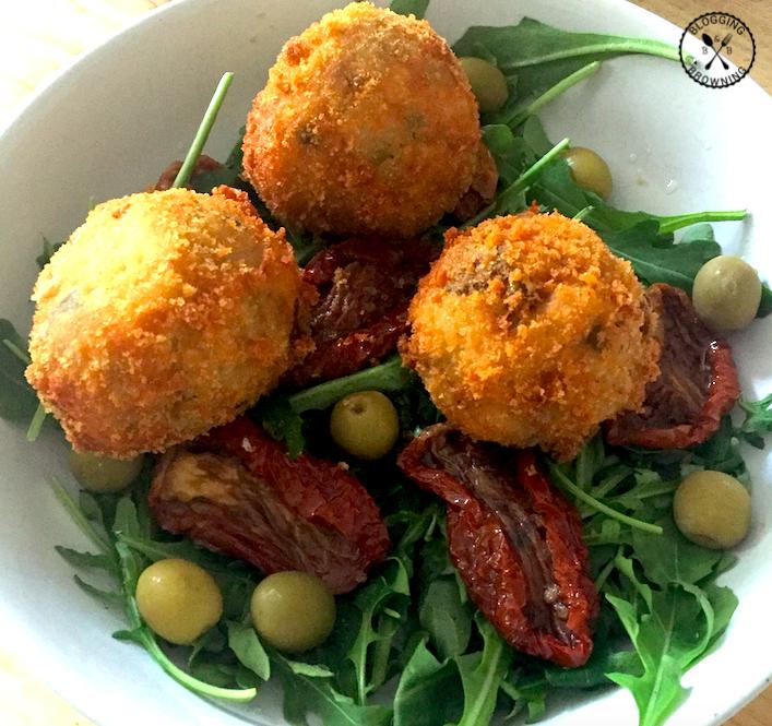 Arancini salad
